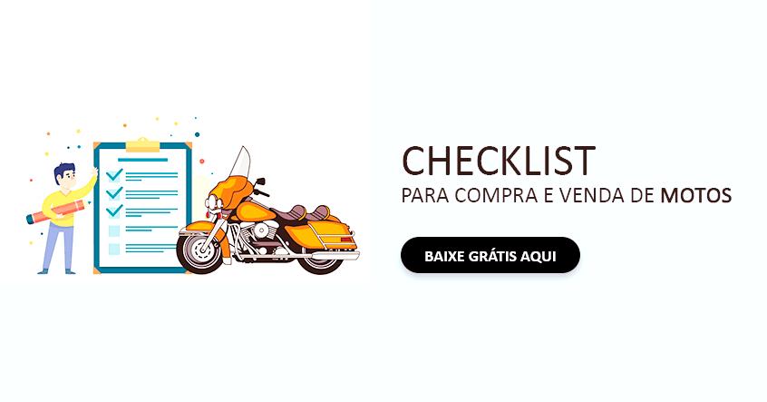 Checklist para compra e venda de motos